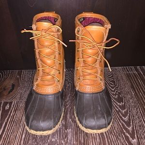 "LL Bean Gor-Tex Thinsulate 8"" Boots Sz 6W"